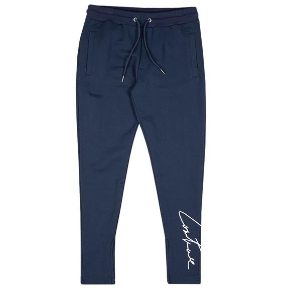 The Couture Club Mens Blue Essentials Signature Slim Joggers