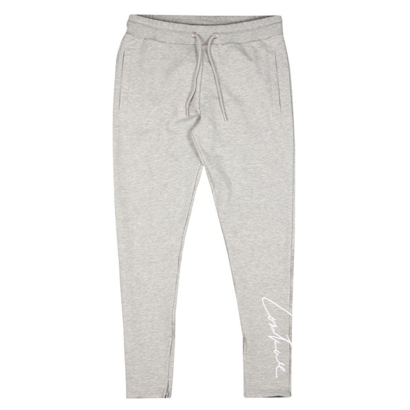 The Couture Club Mens Grey Essentials Signature Slim Joggers