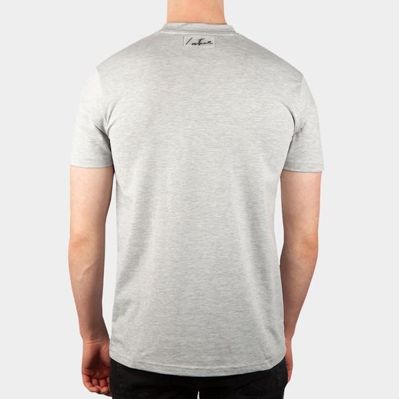 The Couture Club Mens Grey Essentials Signature Slim T-Shirt main image