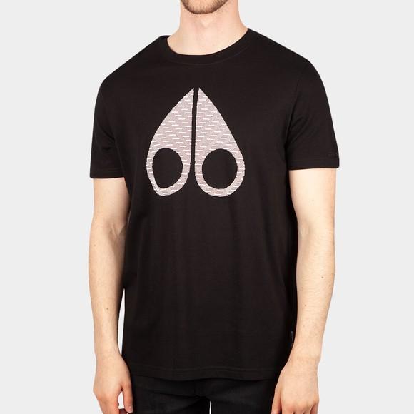 Moose Knuckles Mens Black Lost River T Shirt
