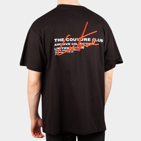 The Couture Club Mens Black Signature Season Regular T-Shirt main image