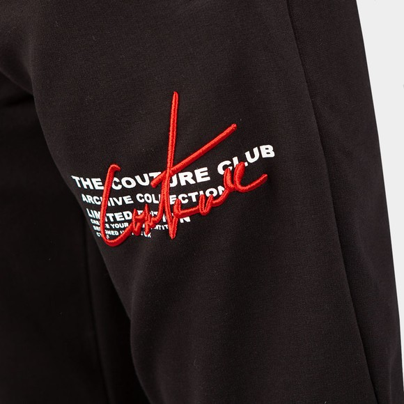 The Couture Club Mens Black Signature Season Slim Joggers main image