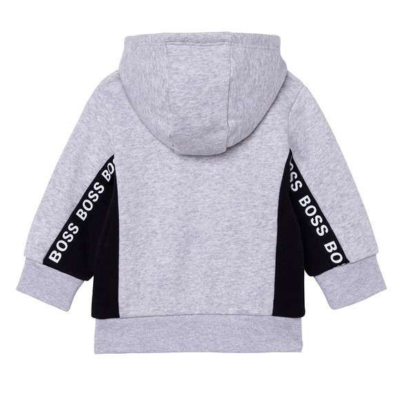 BOSS Baby Boys Grey J05901 Tape Hoody