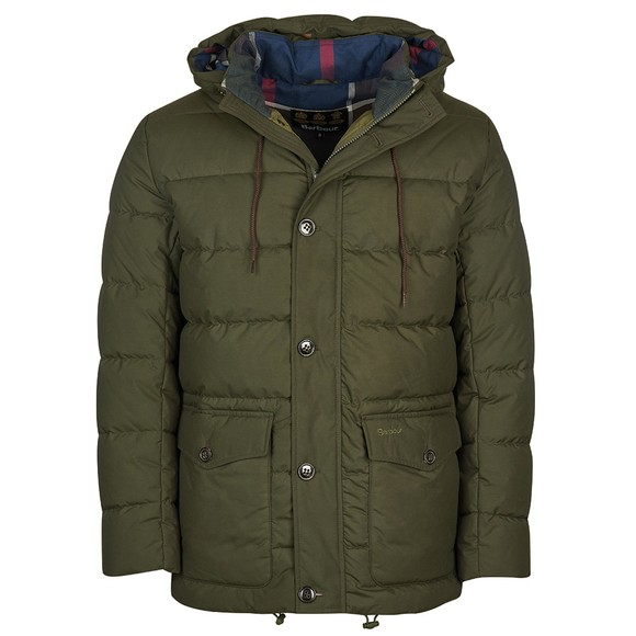 Barbour Lifestyle Mens Green Mobury Quilt Jacket main image