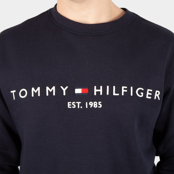 Tommy Hilfiger Mens Blue Logo Sweatshirt main image