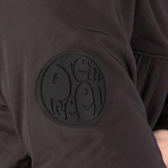 Pretty Green Mens Black Soft Shell Jacket main image