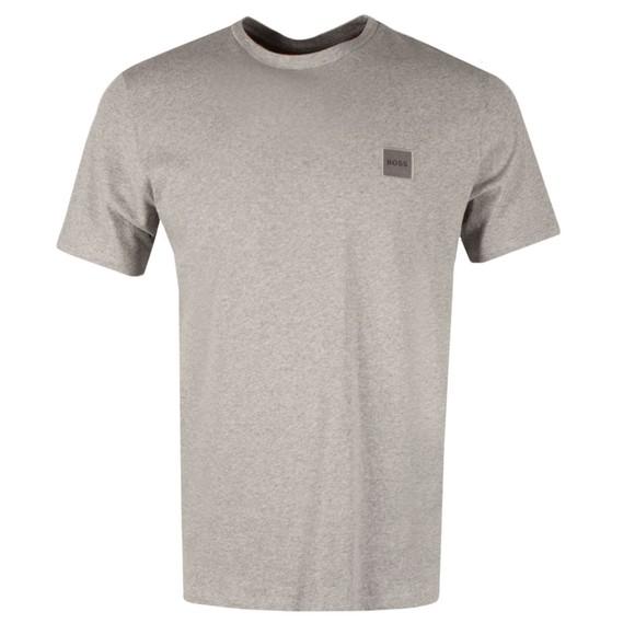 BOSS Mens Grey Casual Tales 1 T Shirt