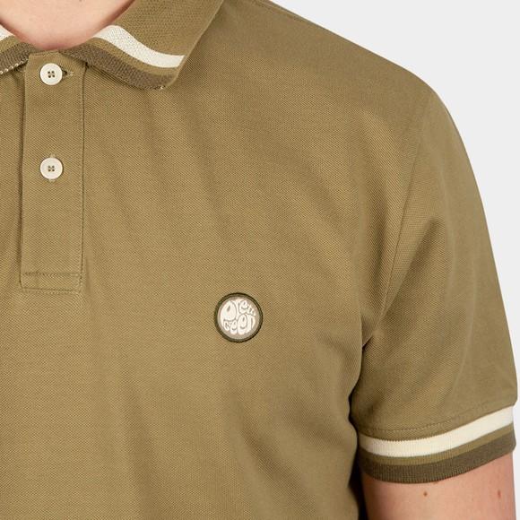 Pretty Green Mens Green Banker Polo Shirt main image