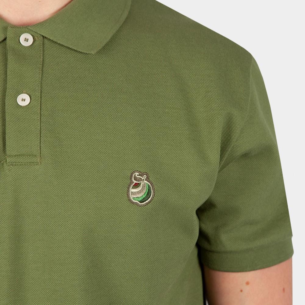 Autumn Apple Embroidery Polo Shirt main image