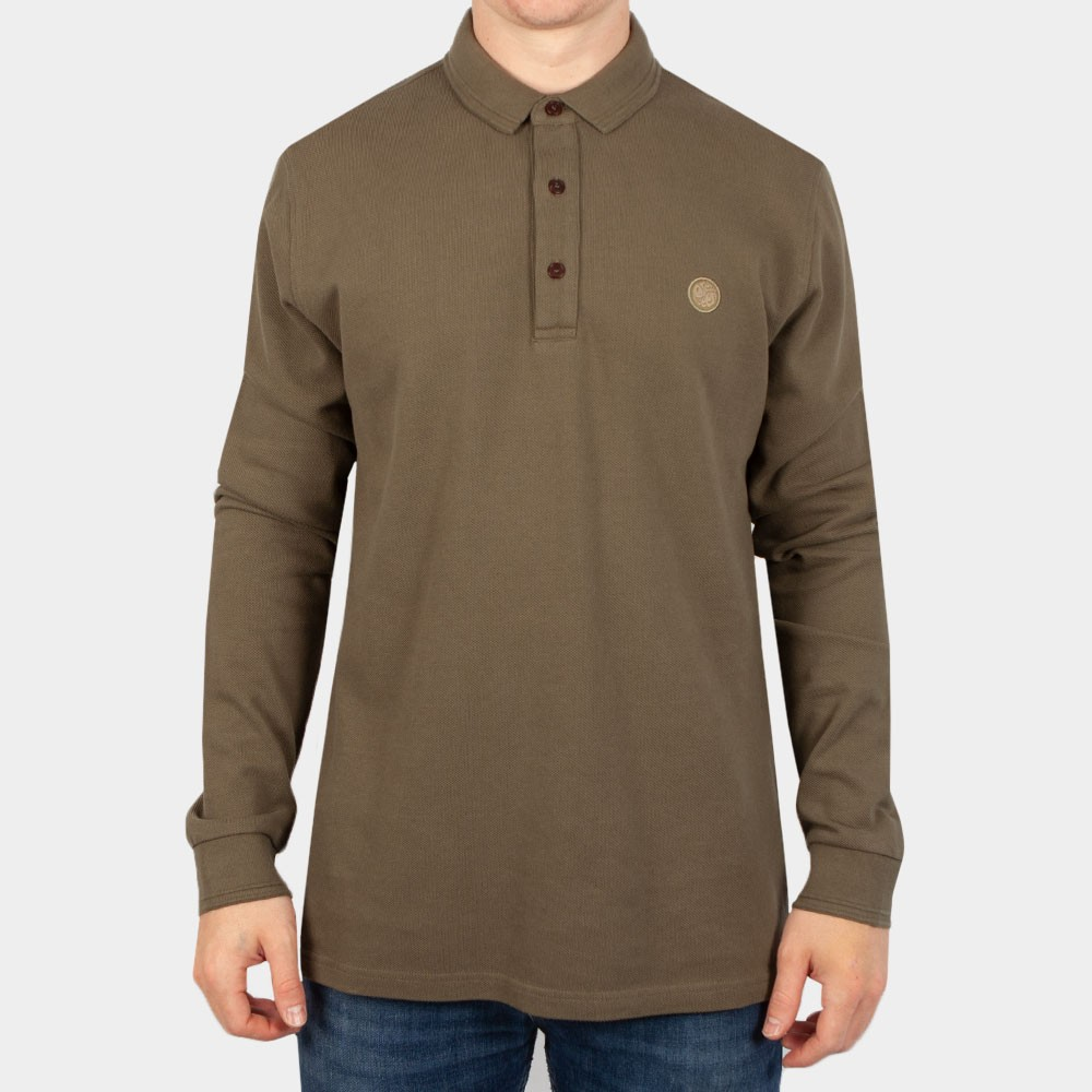 Military LS Polo Shirt main image