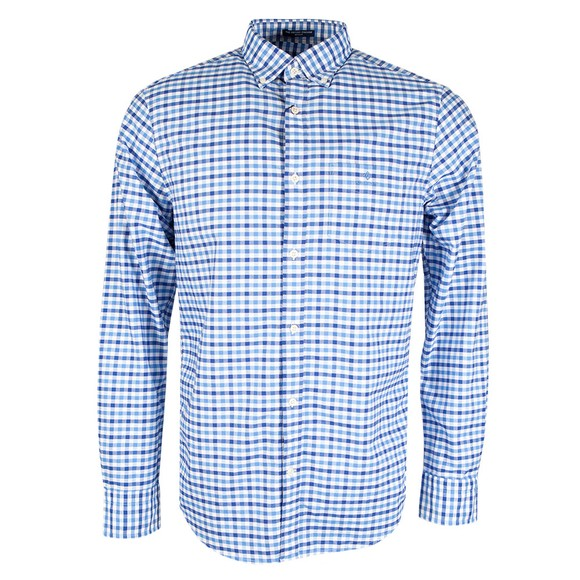 Gant Mens Blue 2 Colour Gingham Shirt