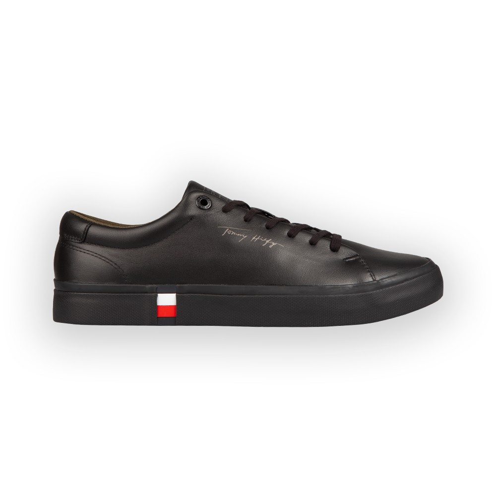 Corporate Modern Vulc Leather Trainer main image