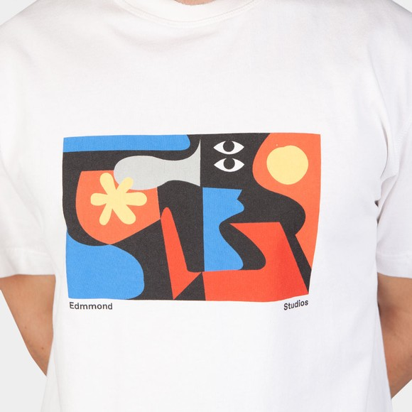 Edmmond Studios Mens White Brooks T Shirt main image