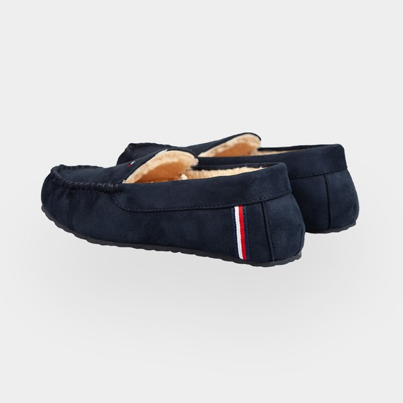 Tommy Hilfiger Mens Blue Warm Corporate Elevated Home Slipper main image
