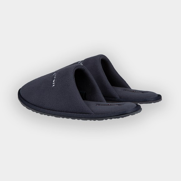 Tommy Hilfiger Mens Blue Embroidery Home Slipper main image