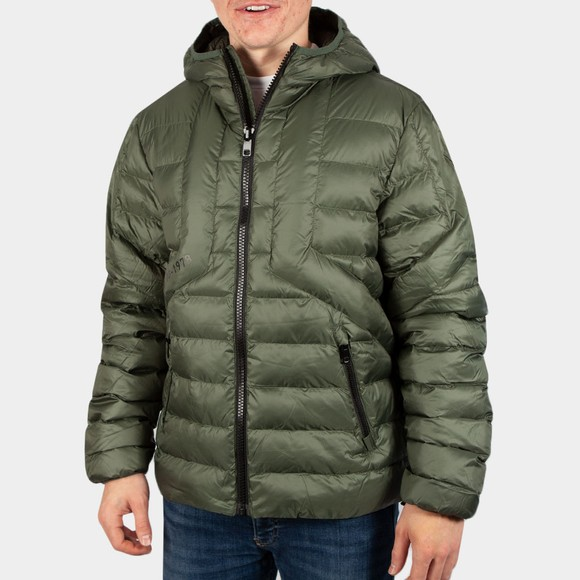 Diesel Mens Green Dwain Jacket
