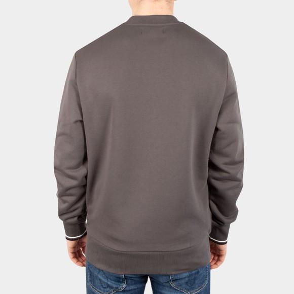 Fred Perry Mens Grey Crew Neck Sweatshirt main image