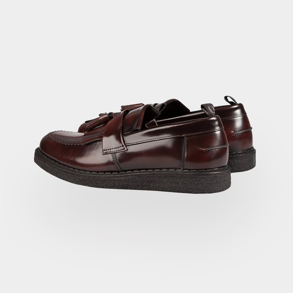 Fred Perry Mens Red Tassel Loafer main image