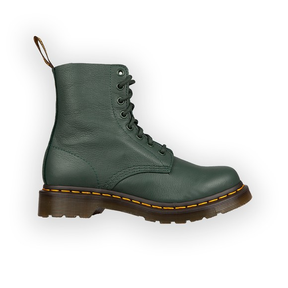 Dr. Martens Womens Green Pascal Boot