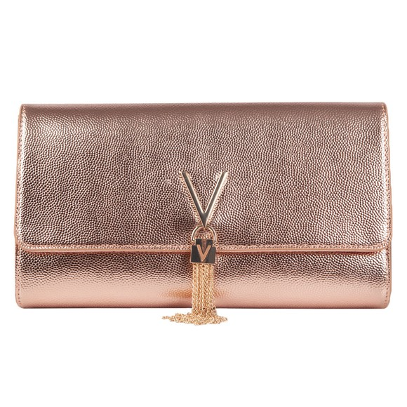 Valentino Bags Womens Pink Divina Clutch