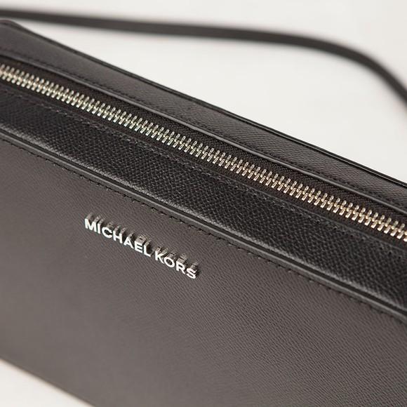 Michael Kors Womens Black Jet Set Travel Shoulder Bag