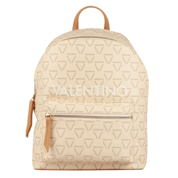 Valentino Bags Womens Off-White Liuto Backpack
