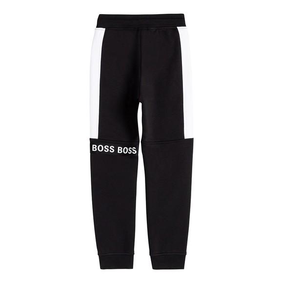 BOSS Boys Black J24720 Tape Jogger