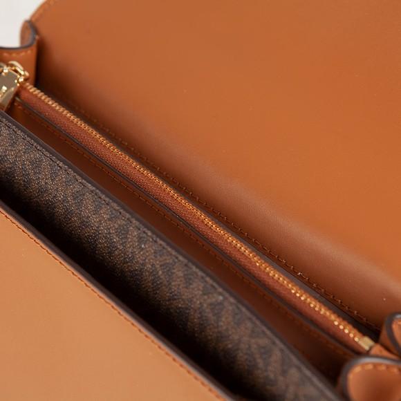 Michael Kors Womens Brown Jade Small Tote Bag