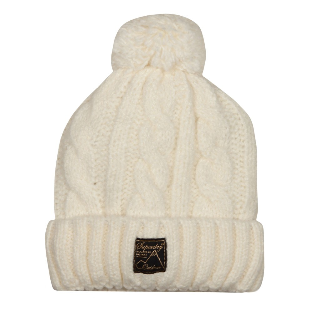 Tweed Cable Beanie main image