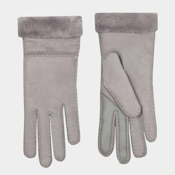 Ugg Womens Grey Seamed Tech Glove