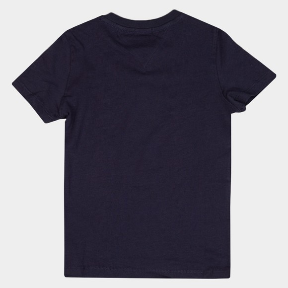 Tommy Hilfiger Kids Boys Blue Latam Graphic T Shirt