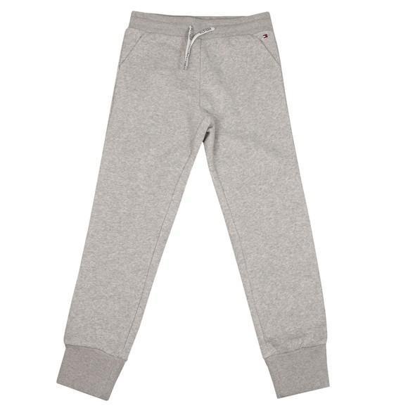 Tommy Hilfiger Kids Girls Grey Sequins Flag Sweatpant