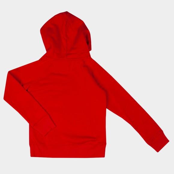 Gant Boys Red Retro Shield Hoody