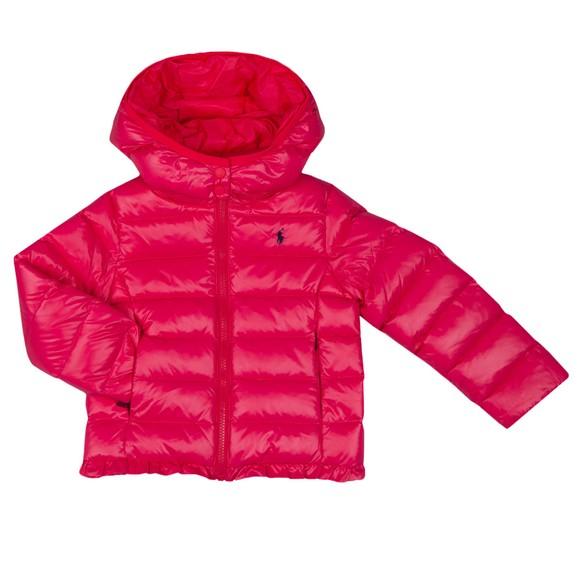 Polo Ralph Lauren Girls Pink Channel Jacket