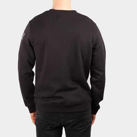Calvin Klein Jeans Mens Black Shadow Logo Crewneck main image