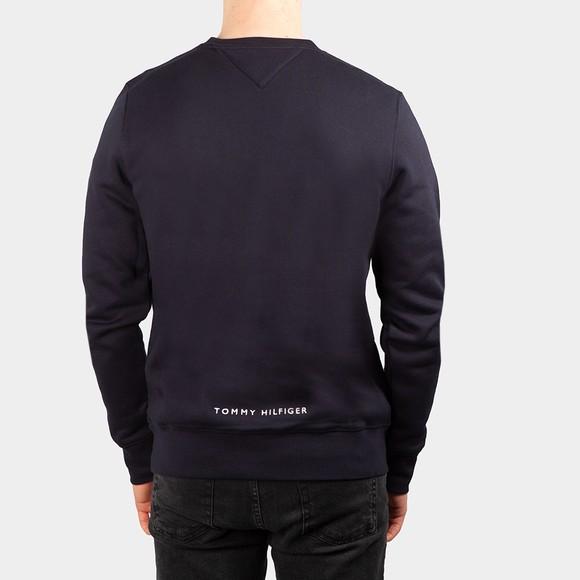 Tommy Hilfiger Mens Blue Four Flags Crew Sweatshirt main image