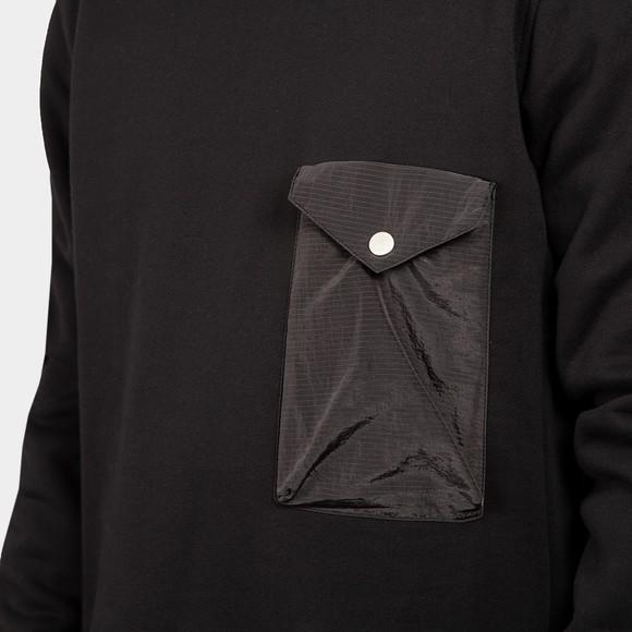 Pretty Green Mens Black Sweeney Sweatshirt main image