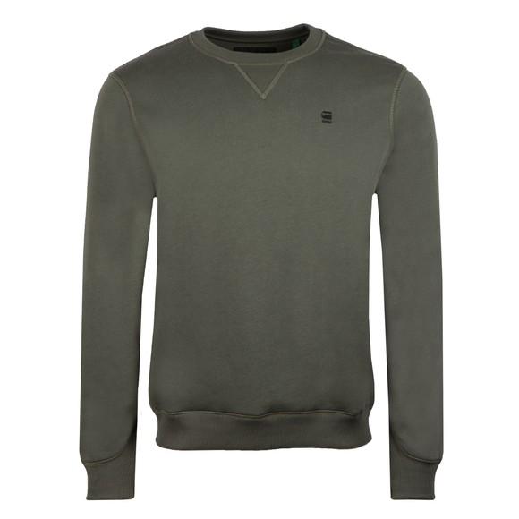 G-Star Mens Blue Core Sweatshirt main image