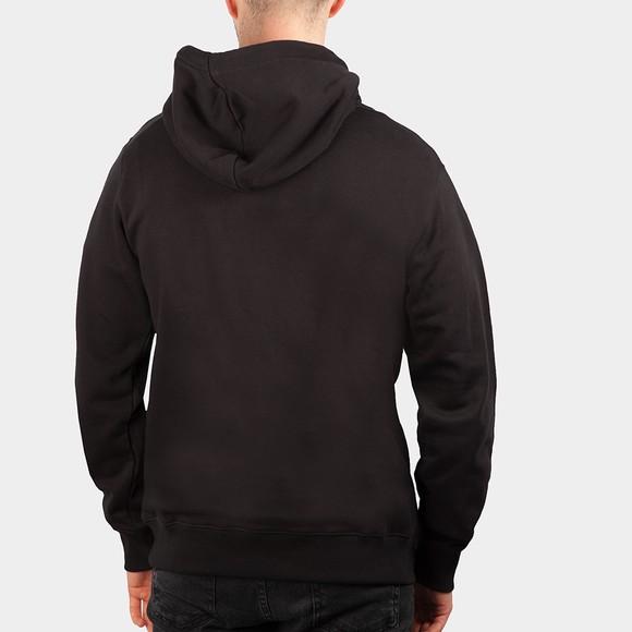 Calvin Klein Jeans Mens Black Seasonal Monogram Hoodie main image