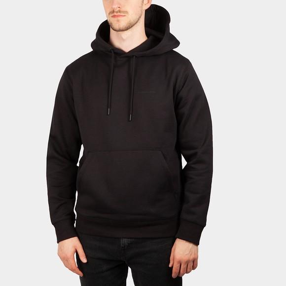 Calvin Klein Jeans Mens Black Monogram Hoodie main image