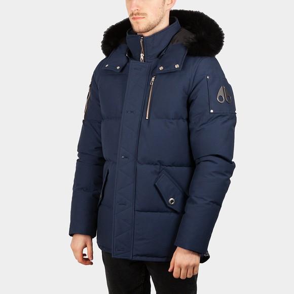 Moose Knuckles Mens Blue 3Q Jacket