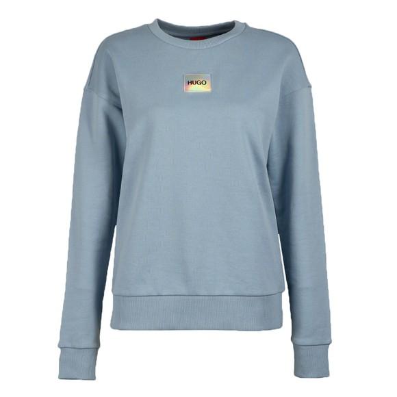 HUGO Womens Blue Nakira Sweatshirt