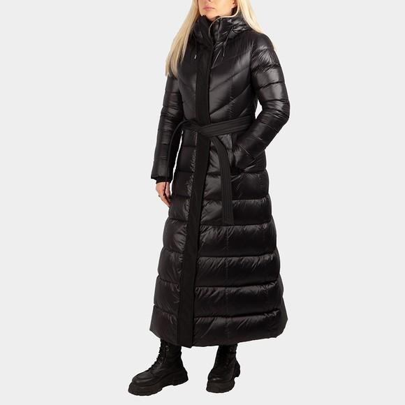 Mackage Womens Black Calina Maxi Down Jacket