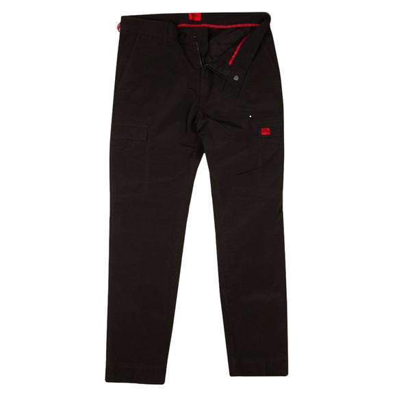 HUGO Mens Black Gilan214D Cargo Trouser