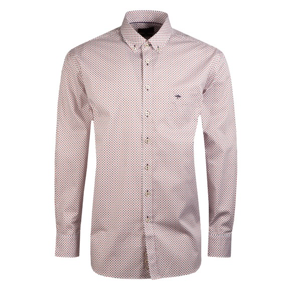 Fynch Hatton Mens Blue Winter Minimals Shirt