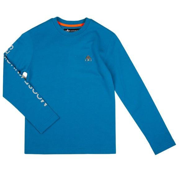 Moose Knuckles Boys Blue Boys Pinue Sweatshirt