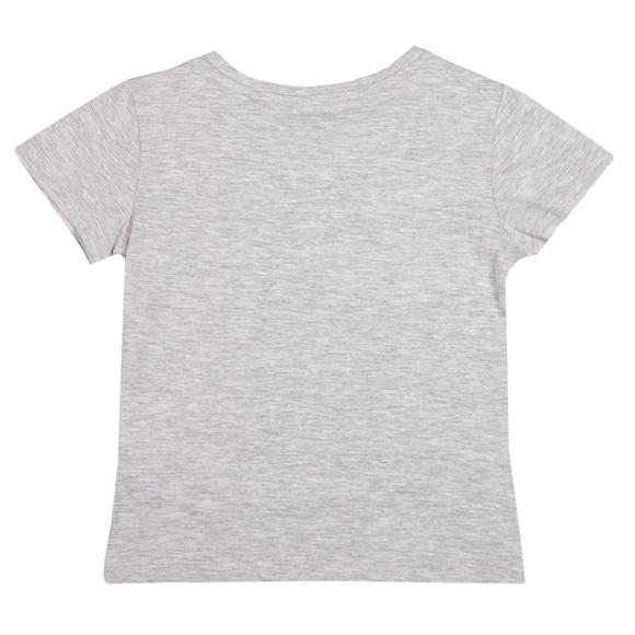 Elle Girls Grey Fade Logo T Shirt