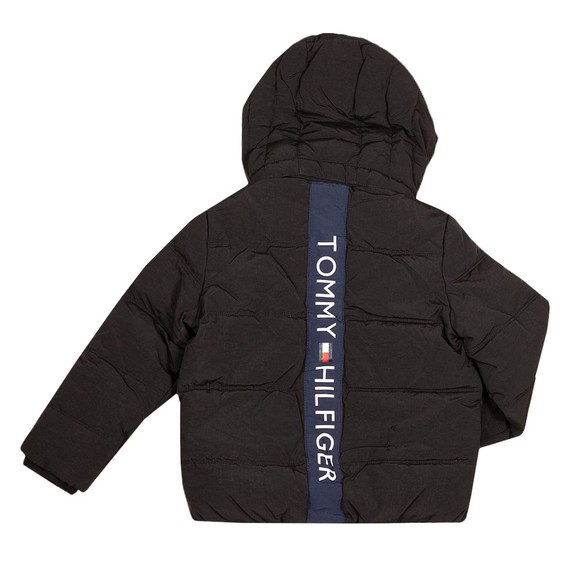 Tommy Hilfiger Kids Boys Black Essential Padded Jacket