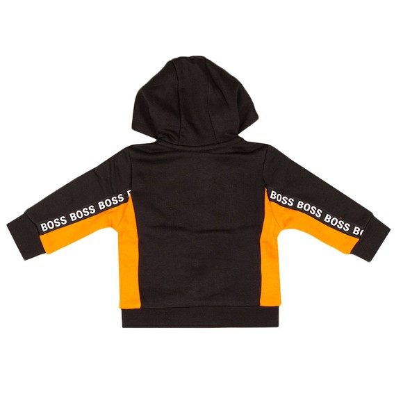 BOSS Baby Boys Black J05901 Tape Hoody