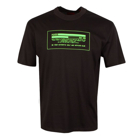HUGO Mens Black Danford T Shirt